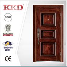 2014 neue Tür Design Sicherheit Stahltür KKD-110 Made In China vor der Tür