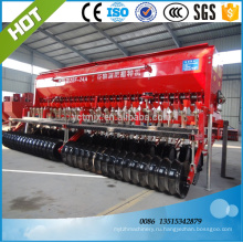 Китай завод питания сельскохозяйственный трактор прицепная сеялка пшеницы без обработки почвы сеялка плантатор пшеницы
