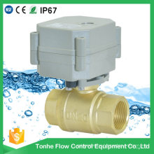 "2 Way 3/4"" Inch Dn20 Automatic Electric Water Shut off Valve Motorized Ball Valve"