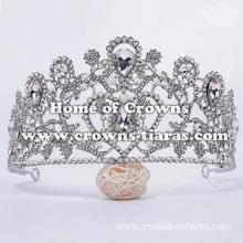 Wholesale Crystal Party Crowns In Heart Shaped
