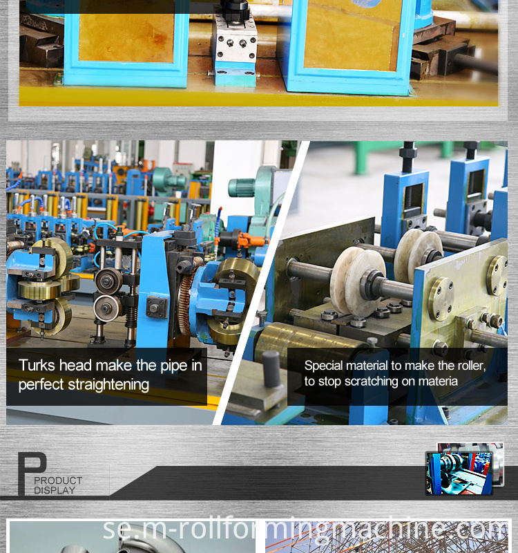 machine to make square tube