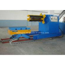 Alta calidad 10 toneladas de Decoiler hidráulico con el coche de la bobina