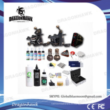 Professional 2pcs Compass Tattoo Machines Kits en prix de gros