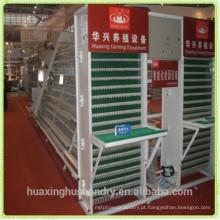 Máquina automática de coleta de ovos da gaiola da bateria