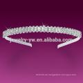 Großhandel weiße Frauen elastische Stirnband zum Verkauf 2015