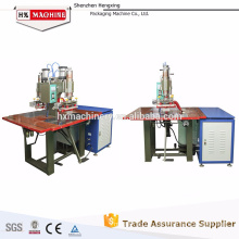 Foot Operated 5-12KW Double Head High Frequency Machine For Plastic Material Welder