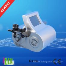 Cavitación ultrasónica + Vacío Liposucción + Laser + Bipolar RF + Roller Machine para adelgazar