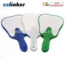 Colorful Plastic Dental Mirror Teeth Shape Mirror