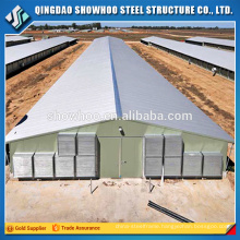 Cheap Poultry Shed Design Steel Structure Chicken Farm Building For Sale