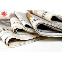 preço de papel de jornal reciclado
