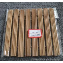 (BC-M1021) Handmade Natural Bamboo Square Heat Insulation Mat