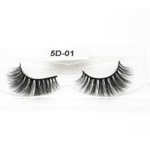 5D Mink Eyelashes 100% Fur Material Lashes Hand Made Eyelash 5D-01 - Mcds Inci Coa BV Sg ISO9001