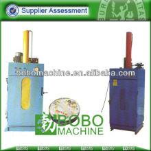 máquina de embalaje de prensa de tambor de aceite de desecho