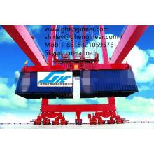 Quayside Grua de uso Twin-lift container spreader