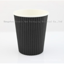Ripple Sleeve Wall Paper Baking Cup for Coffee-Rwpc-35