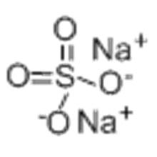 Sulfato de sodio anhidro CAS 7757-82-6