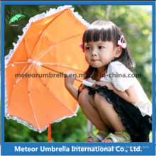 Fancy Eco Friendly Safety Flower Lace Board Children Kids Umbrella