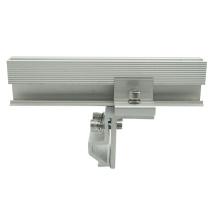 Hohe Leistungsfähigkeit 20KW Metall Stehfalz Dach Kliplok Solar clamp kits