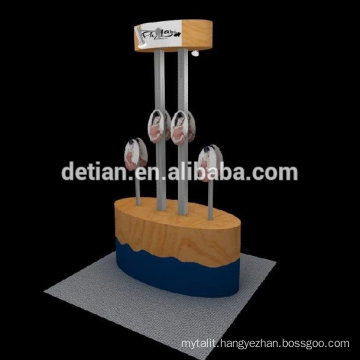 modern design cosmetic product display stand