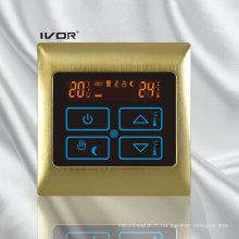Thermomètre chauffant au sol Radiateur tactile Cadre métallique (SK-HV2000B-M)