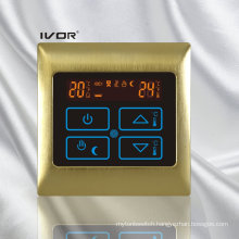 Underfloor Heating Thermostat Touch Switch Metal Frame (SK-HV2000B-M)