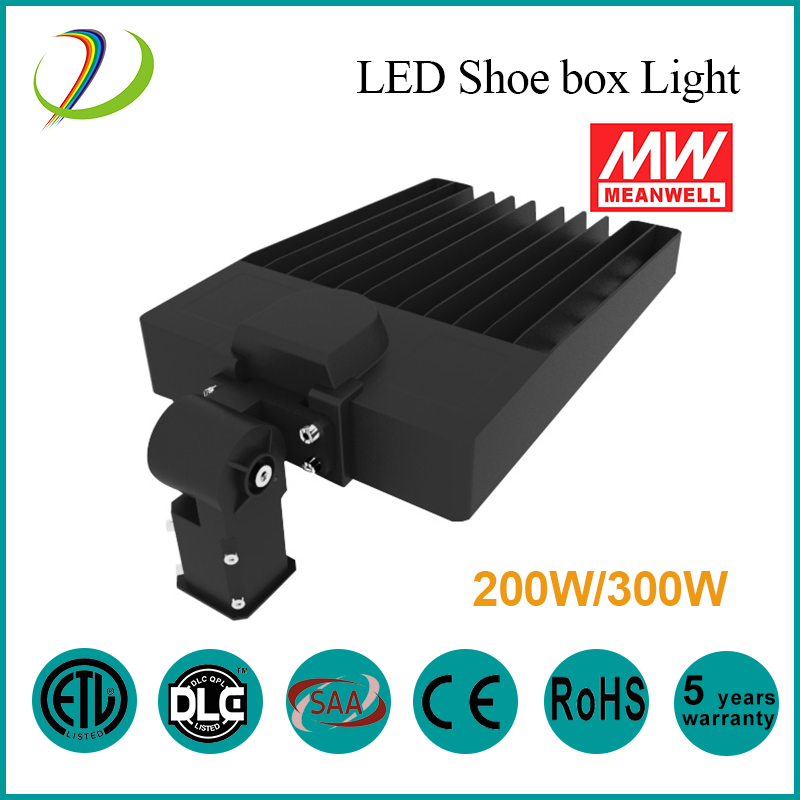 meanwell driver led shoe box light