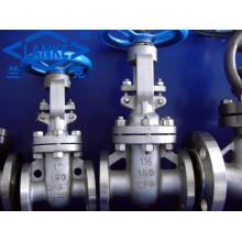 Válvula de compuerta de brida de acero inoxidable ANSI en 150 lb (Z41)