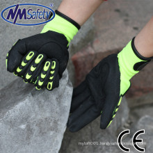 NMSAFETY impact resistant anti shock gloves