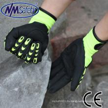 Удара NMSAFETY упорная анти шок перчатки