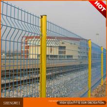 Heavy Gauge 3D Welded Wire Mesh Fence Panel Designs
