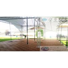 DIY WPC Настил плитки с SGS, FSC, сертификат CE