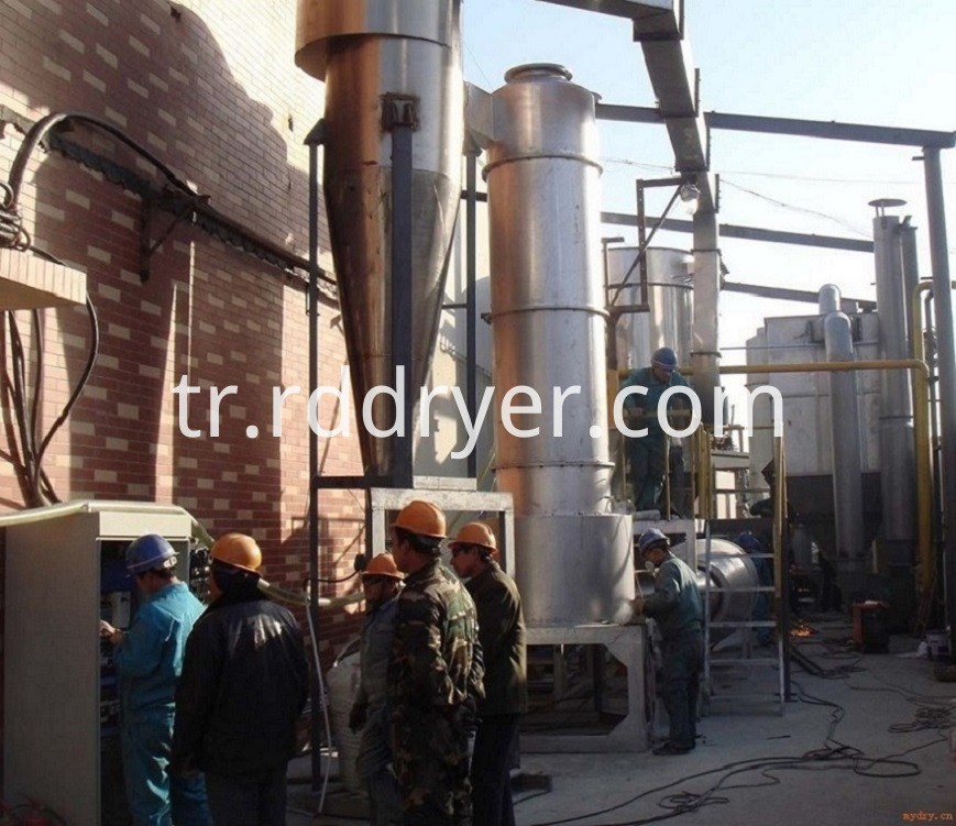 XSG Series Customized Large Capacity Rotary Flash Dryer for Titanium Dioxide