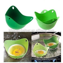 Anti stick highly welcomed kitchenware silicone egg poacher