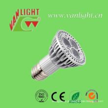 Luz de Spot LED PAR20 impermeável 3W E27