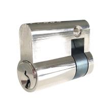High Security Durable Brass Keys Half Lock Cylinders
