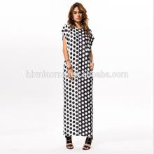 Vestido maxi atractivo de las mujeres de 2017 de la alta calidad de las señoras del diseño de la manera de las muchachas del verano con precio barato