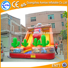 Custom outdoor playgrounds giant inflatable slip n slide for sale