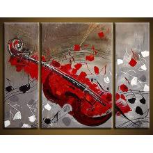 Peinture à l'huile abstraite moderne de haute qualité