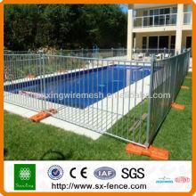 Schwimmbad Zaun