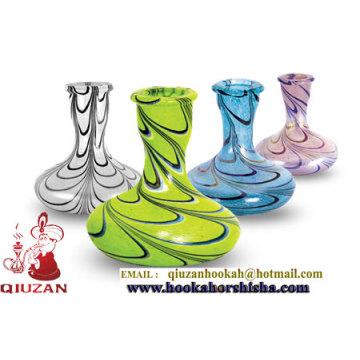 Florero de cristal de colores Hookah Shisha superventas