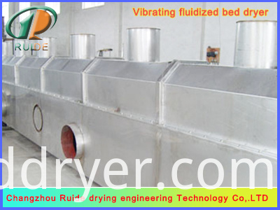 Vibrating Fluidized Bed Dryer Machine For Grain Form