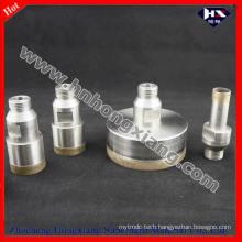 Sintered Thread Shank Diamond Core Drill Bit for Glass Drilling