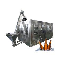 Glass Bottled Beer Filling Packing Machine