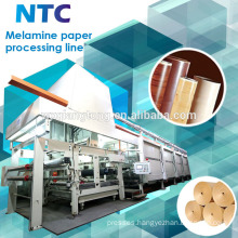 Decorative melamine paper processing machine / Paper impregnation line