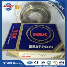 Rolamento de marca NSK (6009-2RS) rolamento selado de borracha