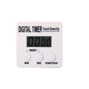 LCD Screen Mini Digital Timer with Holder and Magnet