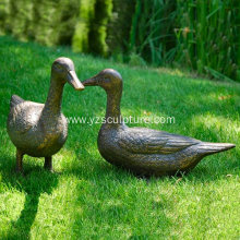 Garden Life Size Duck Sculpture For Sale