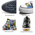 Herren Freizeitschuhe Handbemalte Batman Fashion Sneakers
