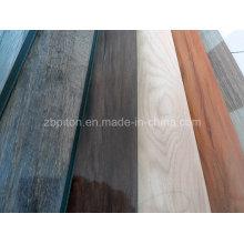 El piso de lujo reciclable de calidad superior más nuevo del vinilo del PVC del tecleo del diseño
