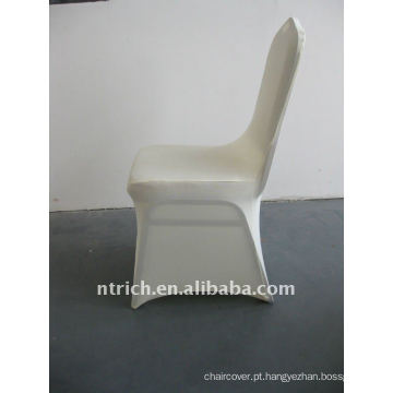 marfim / bege / creme spandex tampa da cadeira, CTS657, apto para todas as cadeiras
